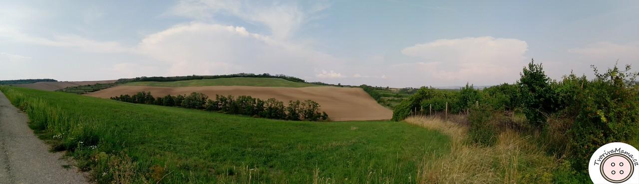 Nosislav's typical landscape