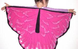 motýlí kostým