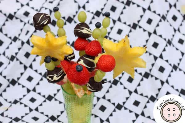 ovocná kytice